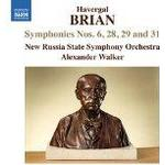 New Russia State Symphony Orchestra - Brian:Symphonies 6,28,29,31 [New Russia State Symphony Orchestra, Alexander Walker ] [NAXOS: 8573408]
